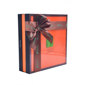 Mooncake Box With Ribbon