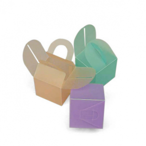 Frosted Colored PVC Box