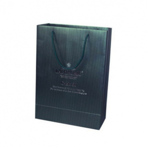 Customized Paper Bag with Hot Stamp Logo