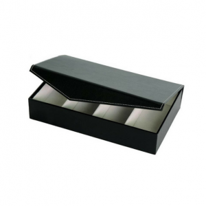 PU Leather Box with Compartments