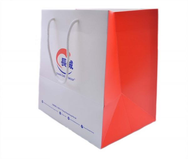 Chang Cheng Paper Bag - side view