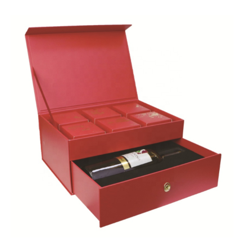 customized wooden box for liquor